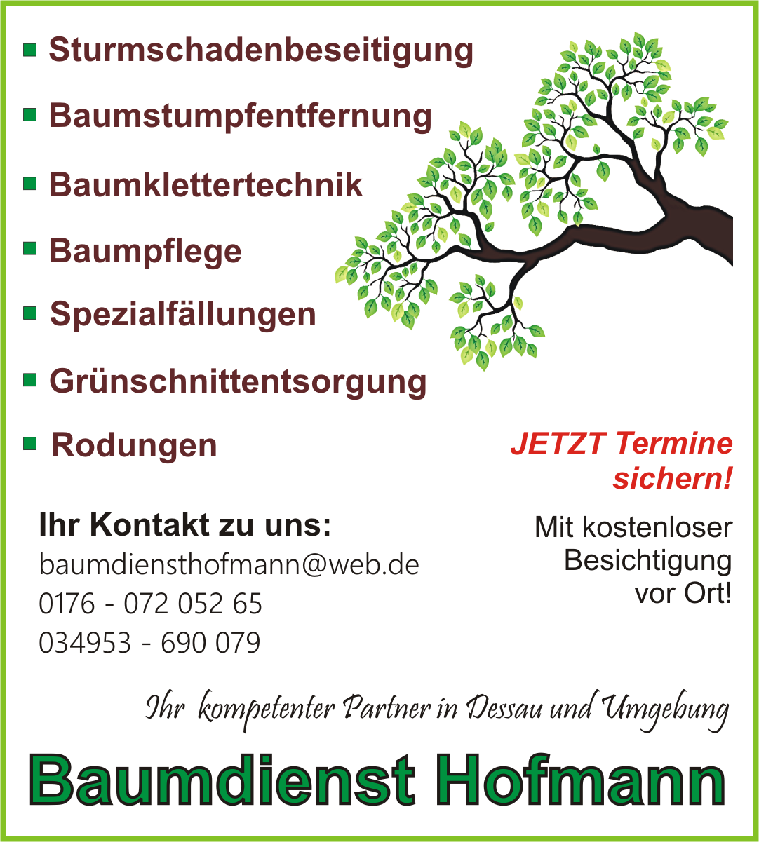 Baumdienst Hofmann